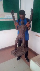Items inside the Badagry Heritage Museum