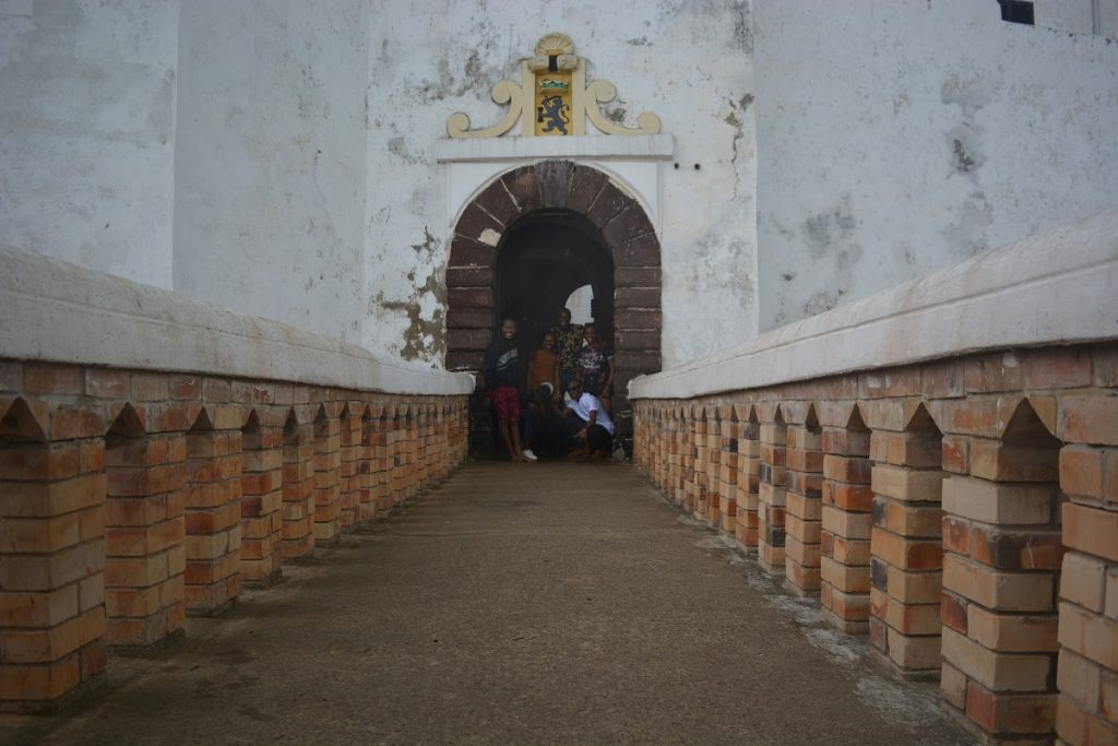 Elmina castle, on of the best experiences we had traveling from Lagos To Ghana By Road
